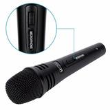 Microfono Profesional 3 Metros Unidireccional Dinámico