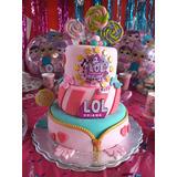 Tortas Decoradas En Crema Merengue Fondant Cumpleaños