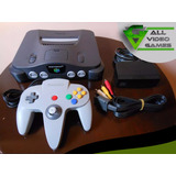 Nintendo 64 +  Controles + Juegos. #somostienda (combo #1)