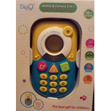 Juguete Telefono Y Camara Bebe Niños