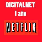 Cuentas Net-flx 1 Año 4pantallas Full Hd Garantizada