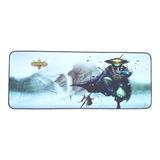 Mouse Pad Teclado League Of Legends Gamer Gaming 75cm X 30cm