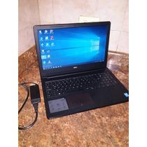 Laptop Dell 3558 , Corei3 , 4 Ram , Hdd 750  , 15.6 Full Hd