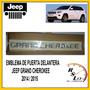 Emblema De Puerta Delantera Jeep Grand Cherokee 2014 / 2015 Jeep Grand Cherokee