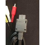 Cable De Audio Video Nintendo Game Cube Gc 100% Original