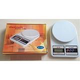 Balanza Digital De Cocina Capacidad 10kg X 1g
