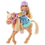 Muñeca Barbie Club Chelsea Y Pony
