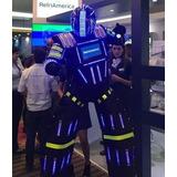 Robot Led Discplay Sonido Dj Carros Telefonos Zapatos Festej