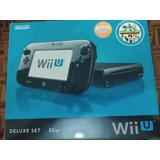 Wii U Deluxe Set Cómo Nuevo