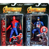 Muñeco Spiderman Capitan Iron Hulk Batman Juguete Vengadores