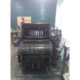 Maquina Litografica Heidelberg Kord Offset 46x64