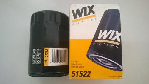 Filtro De Aceite Wix 51522 Chevrolet, Hummer, Jeep, Wagoneer Foto 1