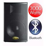 Corneta Amplificada 15 Sps 15a3000ubt 3000 W Bluetooth Usb