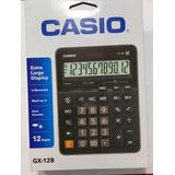 Calculadora Grande De Mesa Casio Modelo Gx-12b-bk