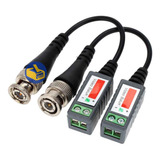 Video Balun Pasivo Para Camara De Seguridad El Par Cable Utp