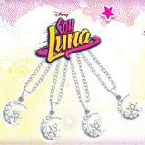 Collar Con Medallita De Soy Luna. Ultima Moda Para Niñas