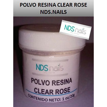 Polvo White, Clear Y Cover Nds Nails 1/2 Oz