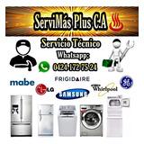 Servicio Técnico Lavadoras Neveras Mabe Whirlpool Electrolux