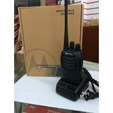 Radio Motorola Uhf Transmisor Alto Alcance Profesional
