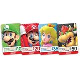 Tarjeta De Regalo Nintendo Eshop - Switch Wii U Ds