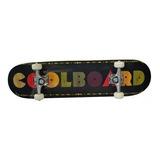 Patineta Premium Estilo Skateboard Plt Colorboard Negro Akr
