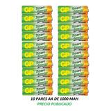 Pilas Baterias Aa Recargables 1000 Mah Gp Garantizadas