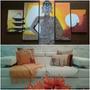 Cojines Decorativos Combo Sábanas Toallas Paños  Muebles