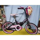 Bicicleta Rin 16 Marca Barbie Original Como Nueva