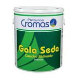 Pinturas Satinado Cromas Gala Seda Blanco Puro Clase A Galon