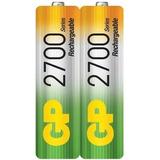 Pilas Recargable Aa Gp 2700 Mah Doble Aa Bateria Nimh