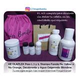 Olaplex 1,2y3, Fanola 100ml, Decolorante Blondme Y Agua Oxig