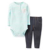 Carters - Conjuntos Body + Pantalon Para Niñas