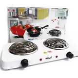Cocina Electrica Portatil Dos Hornillas 110v 2000w Original