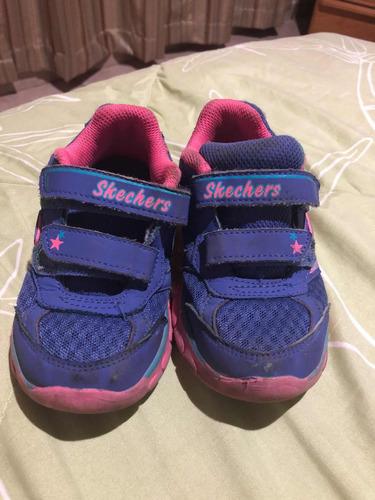 9 Skecher Niña Deportivos Zapatos Usados Talla q6x5CUnIwv