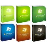 Windows 7 Original Todos Full 32 Bit Y 64 Bit + Activador