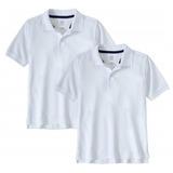 Chemises Escolares Blancas Unisex. Tallas De La S A  Xl