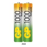 Batería Pila Aaa 1000mah Recargables Telefono Inalambricos