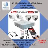 Kit De Seguridad Venta, Instalacion Y Configuracion Dvr Cam