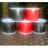Hilo Chino Rollo Negro Y Rojo Precio Por 3 Rollos
