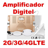 Amplificador De Señal Celulares Repetidora Digitel 2g 3g 4g