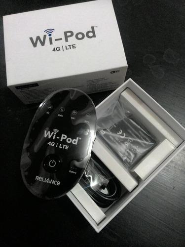 Wifi Portatil - Reliance Wi-pod 4g Lte , Compra y Venta