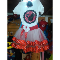 Conjunto Vestido Falda Tutu Minnie