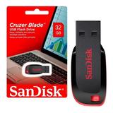 Pendrive Sandisk 32gb Cruzer Blade En Blister Nuevos Origina