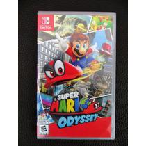 Juego Nintendo Switch, Super Mario Odyssey, Fisico, Sellado