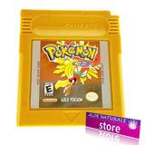 Juego Original De Pokémon Gold Oro Para Game Boy Color