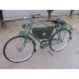 Antigua Bicicleta Benotto Rin 28 Vintage Militar