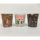 Vasos Desechable Cafe Chocolate 7 Onzas