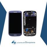 Pantalla Samsung S3 Grande Azul Y Blanca Tienda Fisica