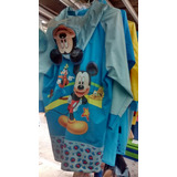 Impermeable Poncho Para Lluvia  De Niños