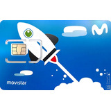 Simcard Movistar 4g, Chip 4g, Usim, Celular 4g, Internet Lte